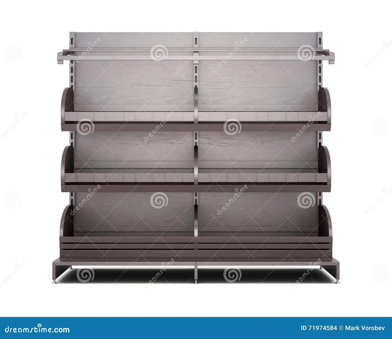 support de brown pour la vue de face de produits de boulangerie sur le fond blanc
