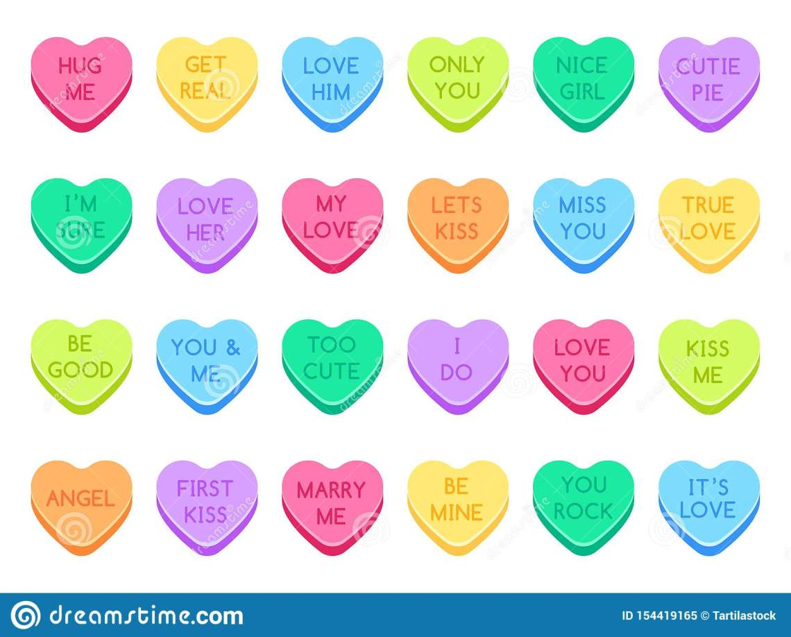 Download Sweetheart Candy. Sweet Heart Candies, Sweets Valentines ...