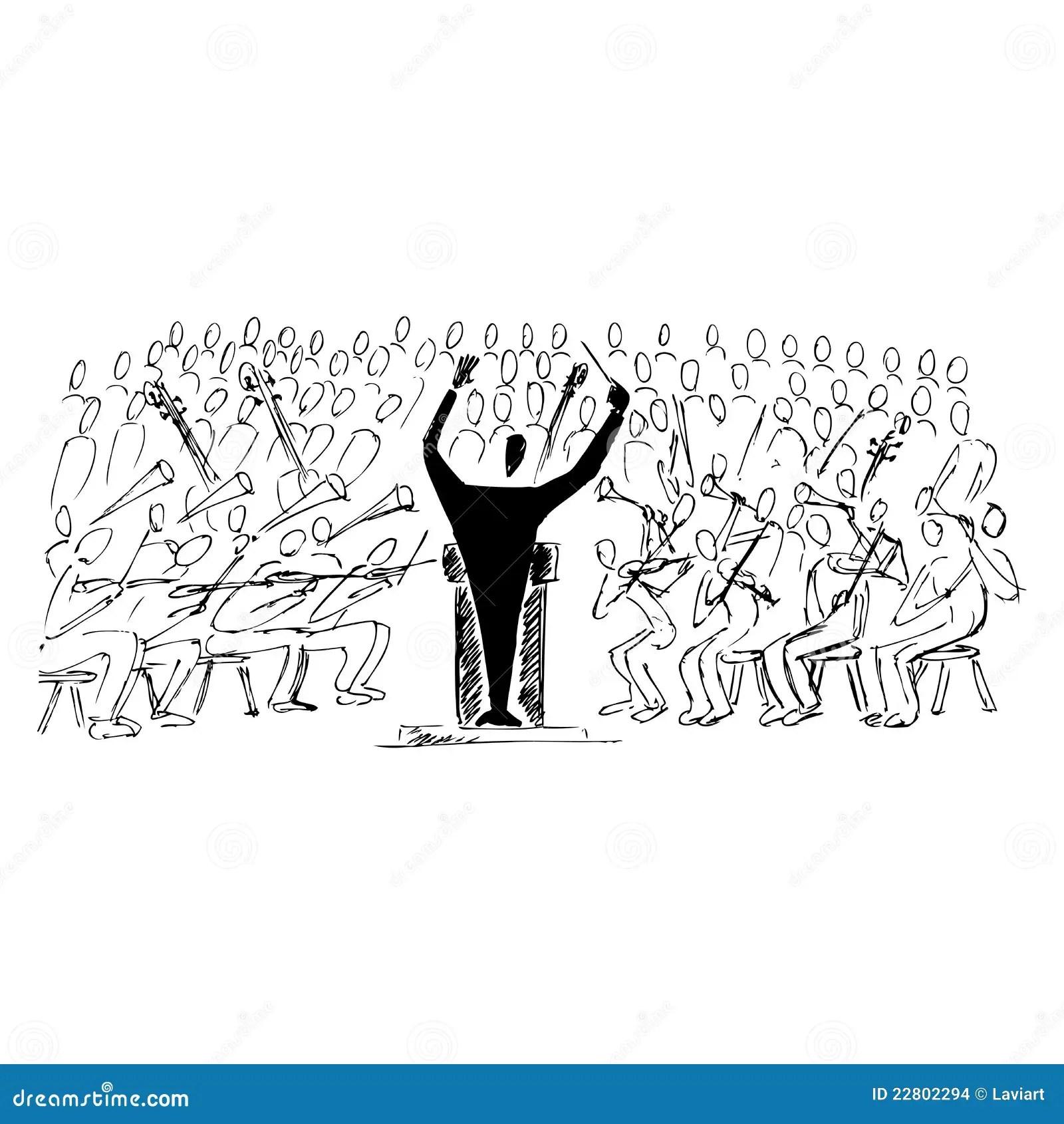 Symphonic Concert Stock Images