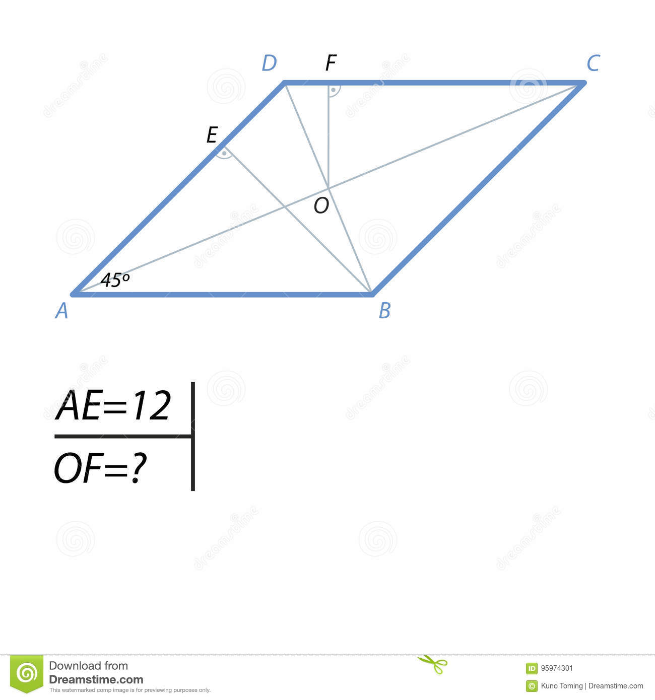 The Task Of Finding The Distance From The Center Of The