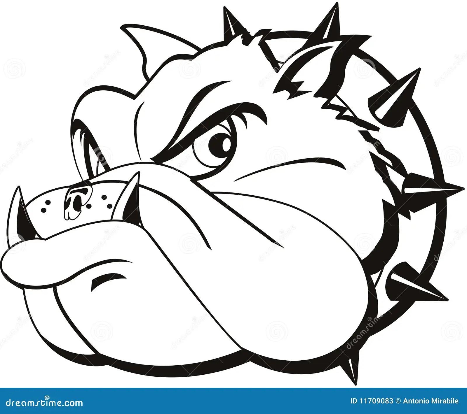 Tattoo Bulldog Stock Illustration Illustration Of Closeup