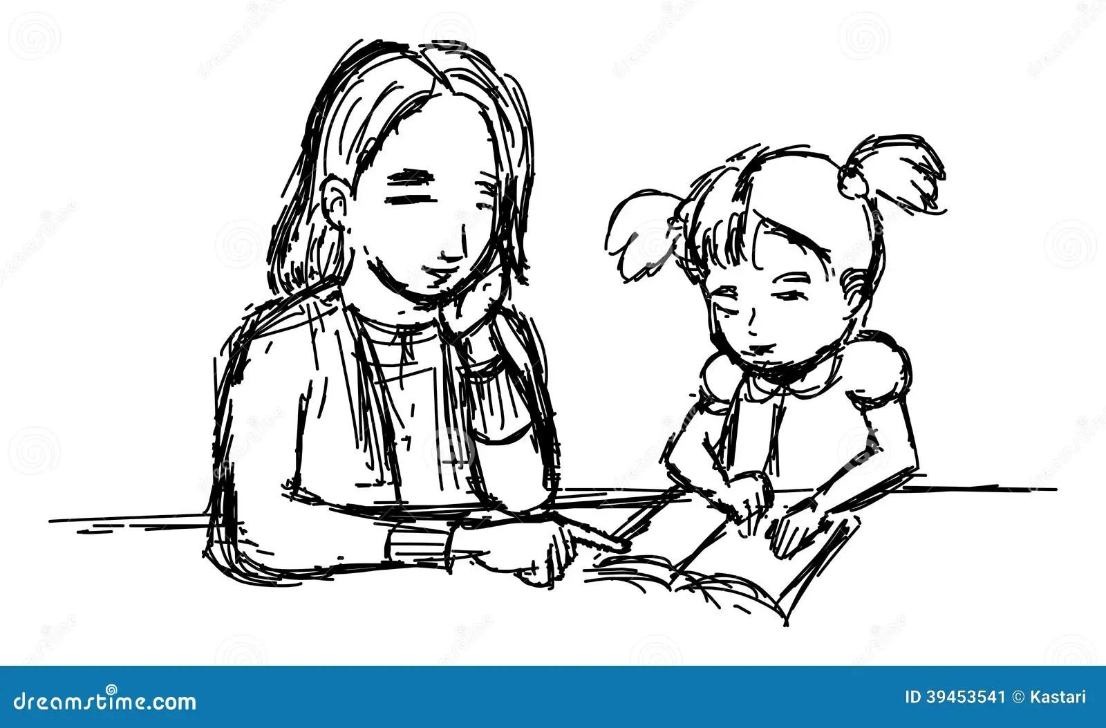 Teaching Stock Illustration