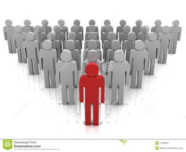Team leader stock illustration. Illustration of volunteer ...