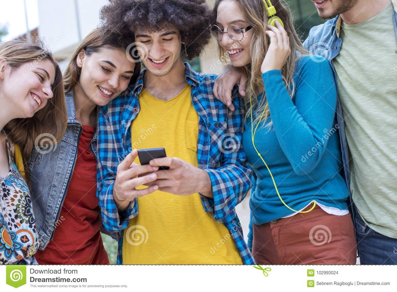 Teenagers Friends Friendship Students Concept Stock Photo