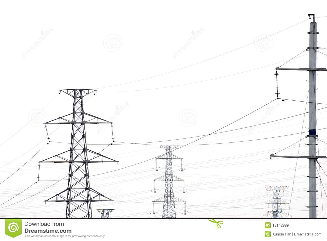 Telegraph Pole Wire Stock Image Image Of Industry