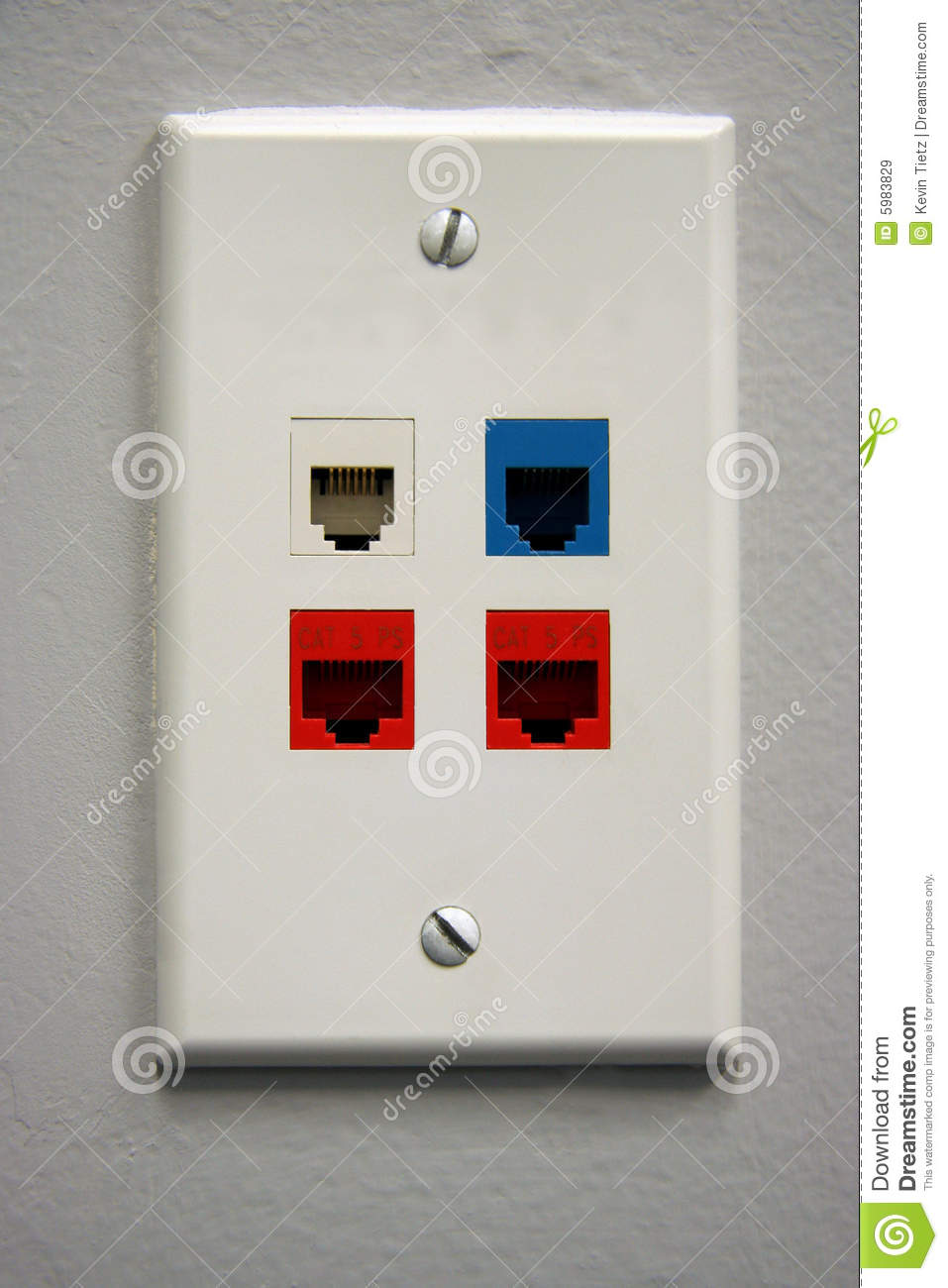 Telephone Outlet Royalty Free Stock Images Image 5983829