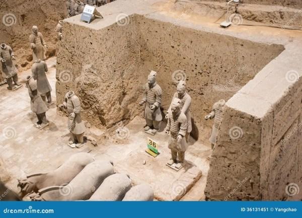 Terracotta Armyxi Anchina Stock Image Image 36131451