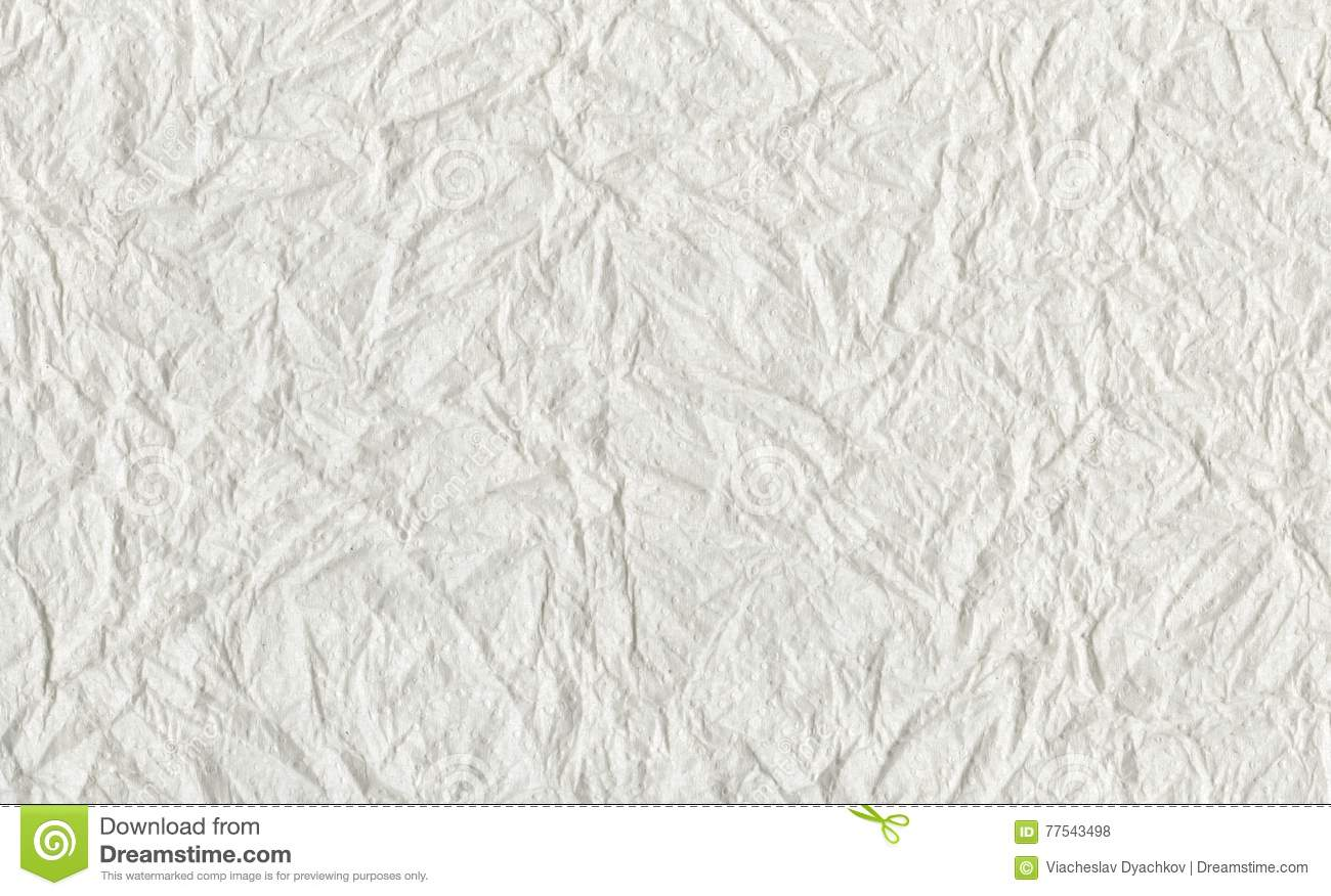 Toilet Paper Texture Background Abstract White Background
