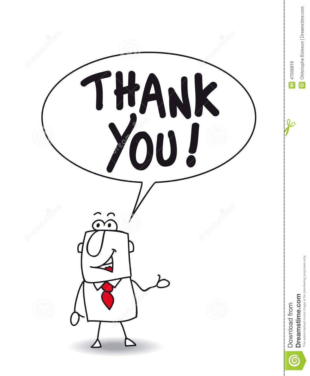 Thank You So Much Stock Vector Illustration Of Concept