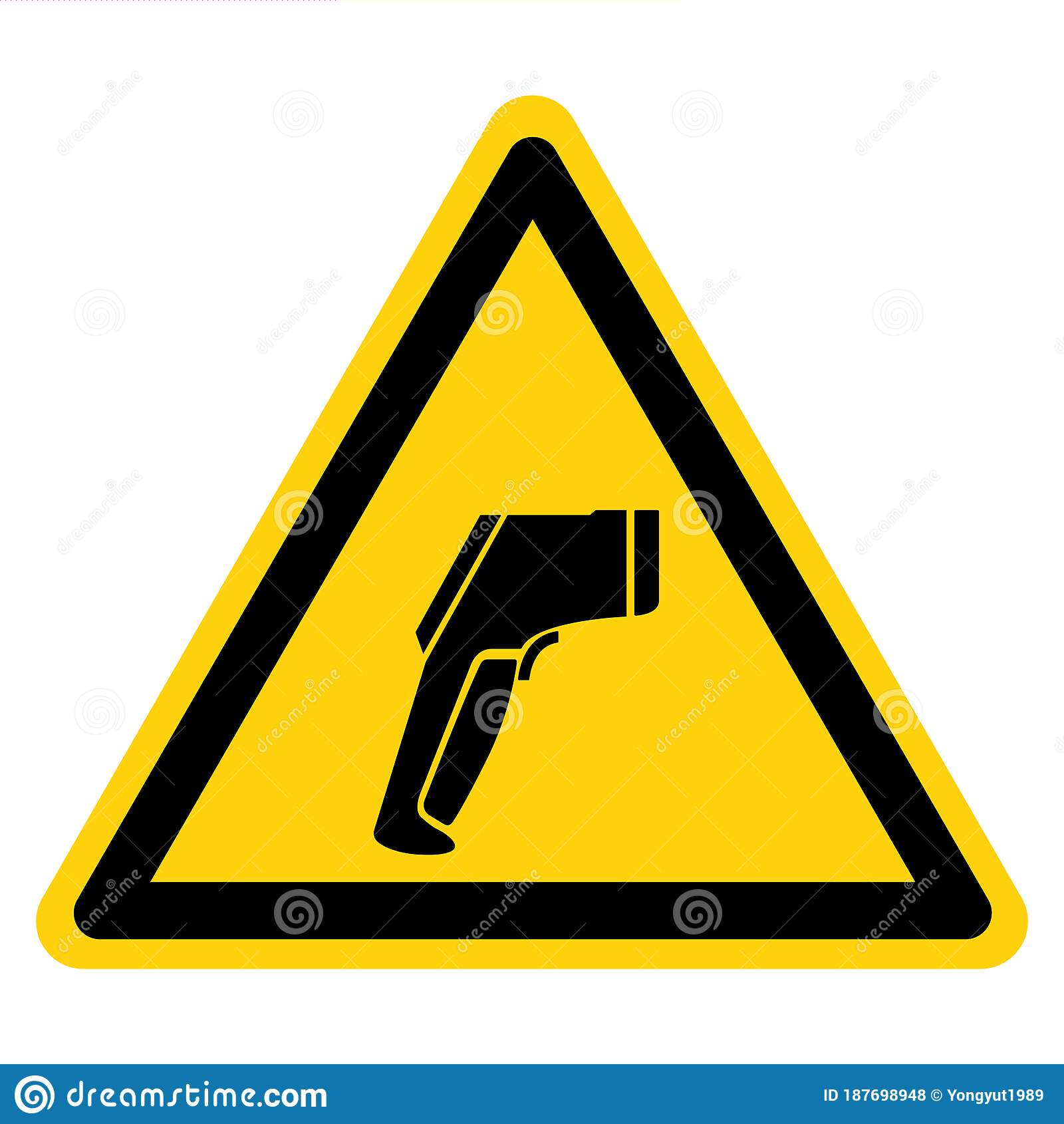 Thermometer Screening Symbol Sign Vector Illustration