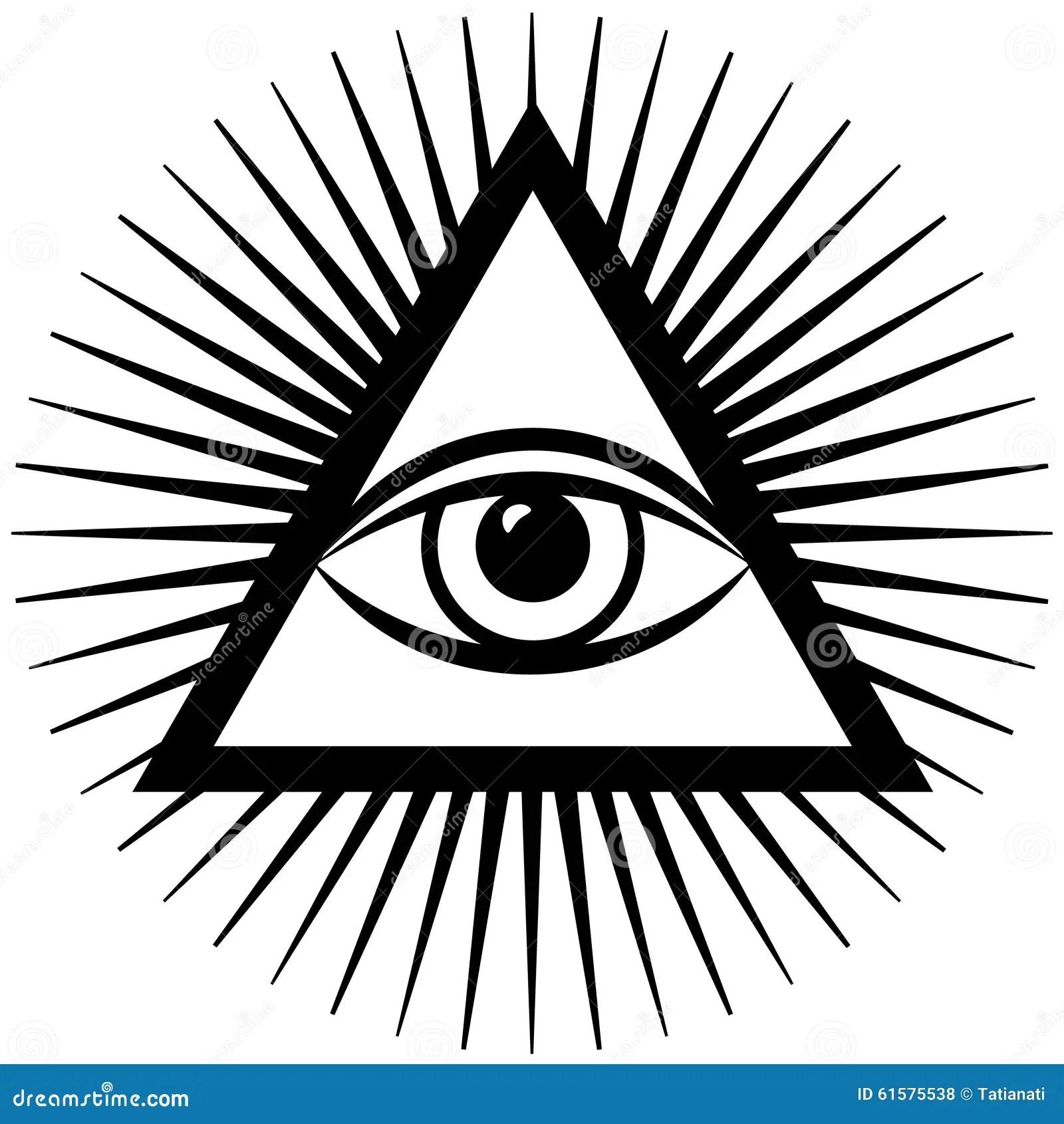 Third Eye Stock Vector Illustration Of Design Karma