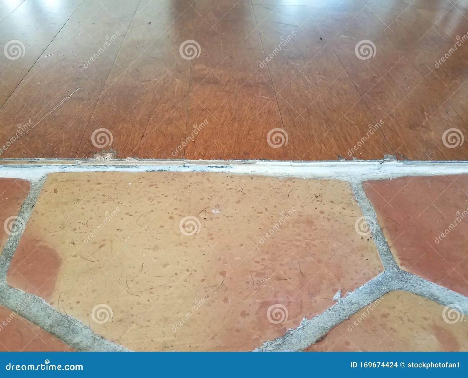 https www dreamstime com threshold wood floor tile hairs brown image169674424