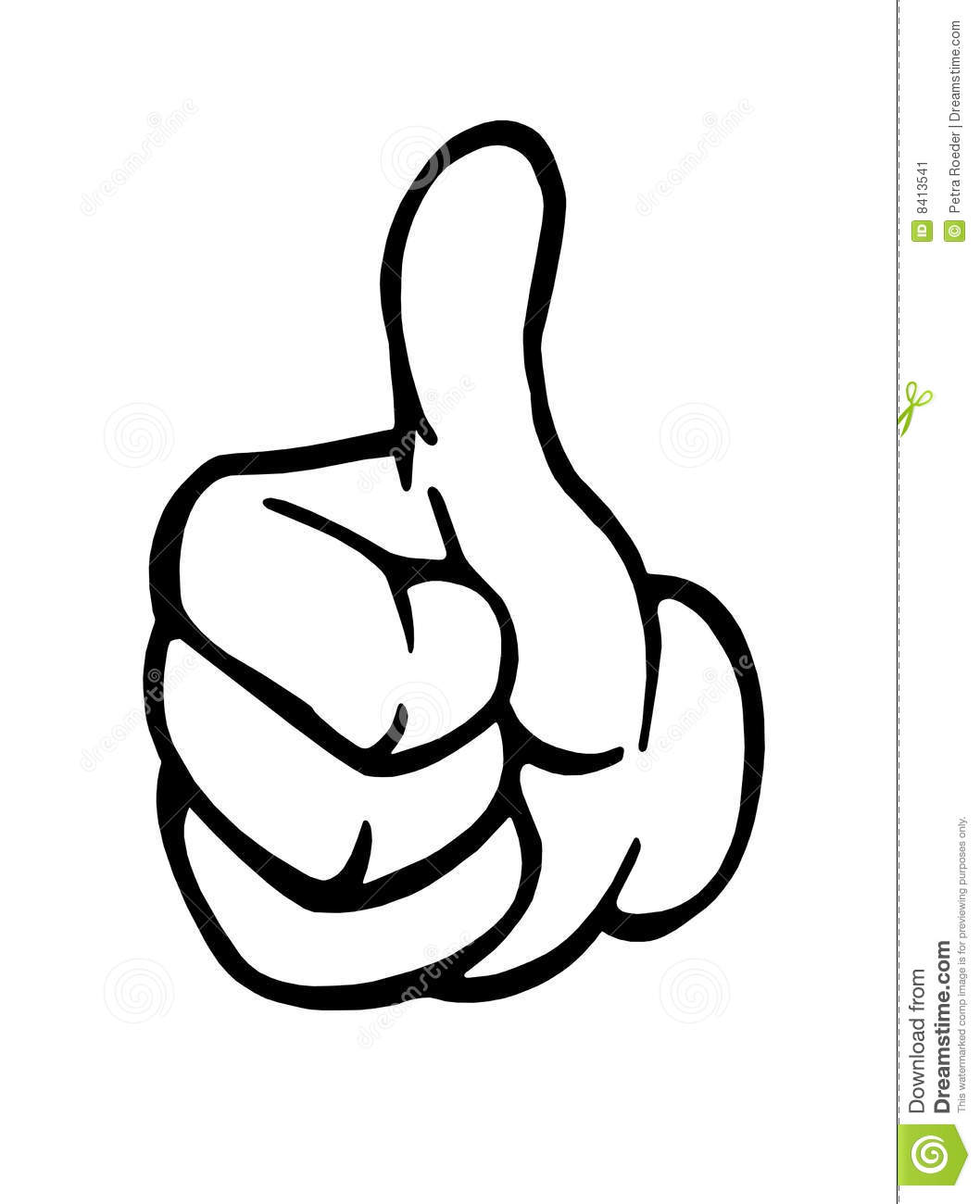 Thumbs Up Sign Stock Image