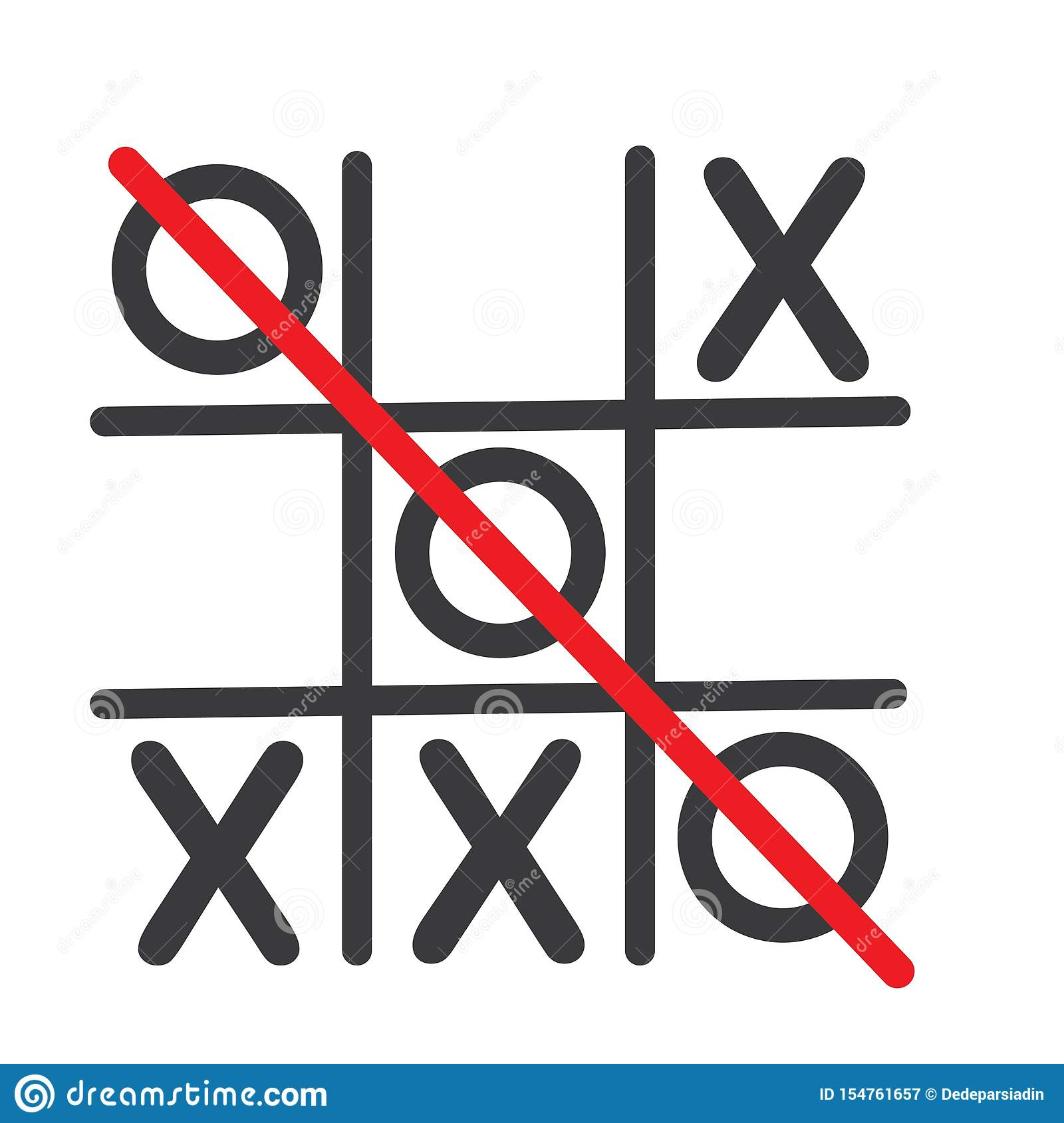 Tic Tac Toe Grid Template