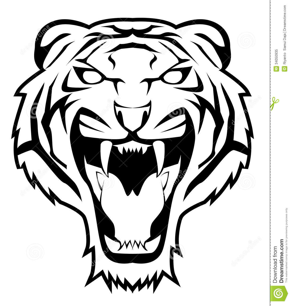 Tiger Jump Stock Vector Illustration Of Design Siberian