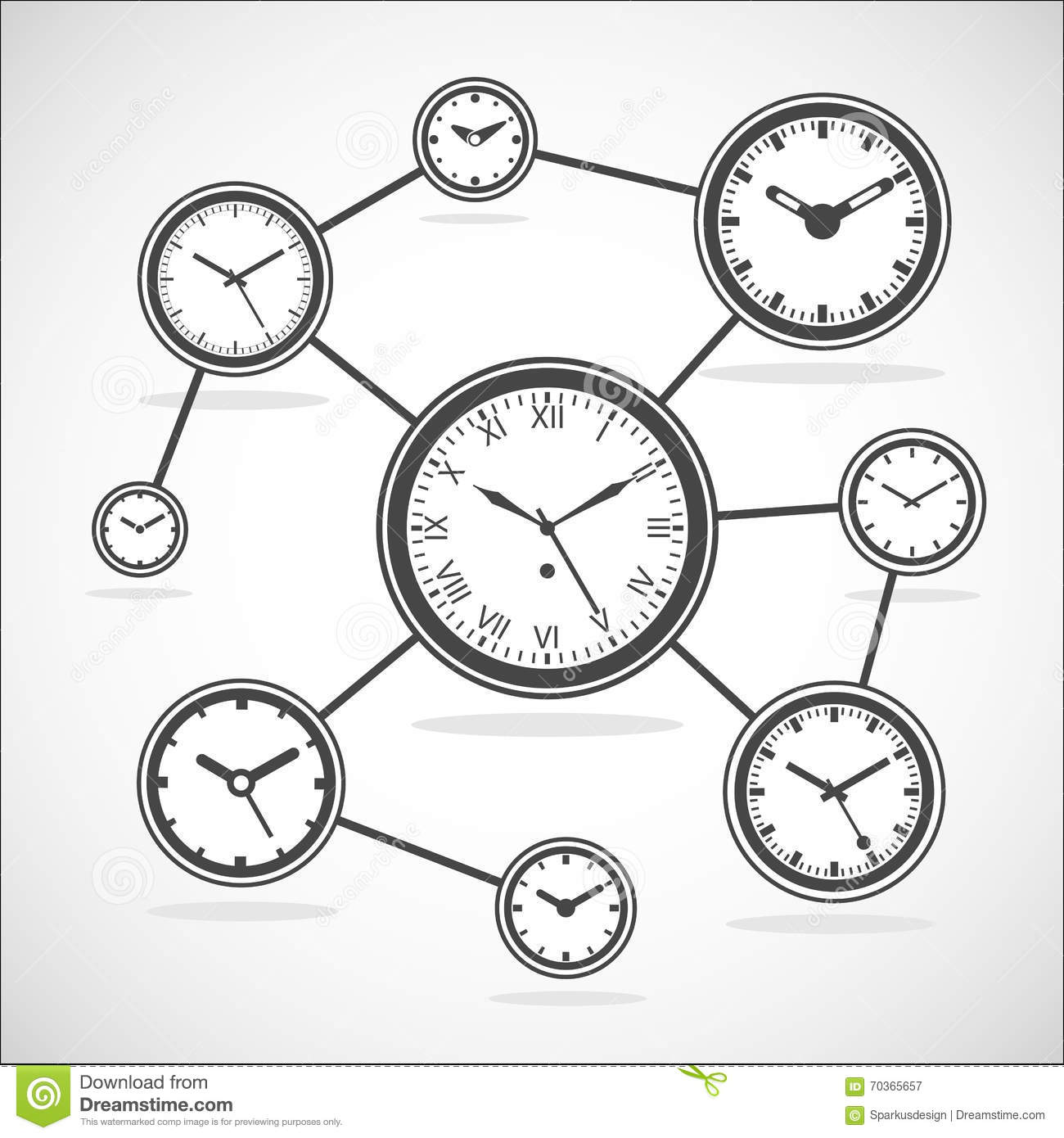 Time Synchronization Diagram