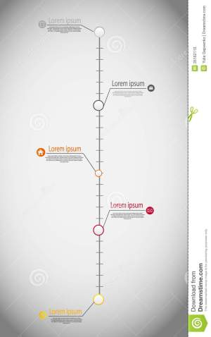 Timeline Infographic Business Template Vector Stock Photo  Image: 35162110