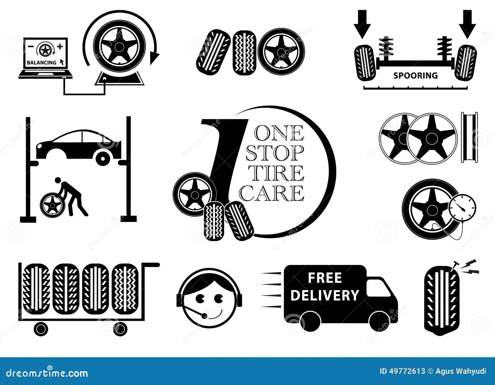 Tire Pressure Gauge Illustration Vector Illustration