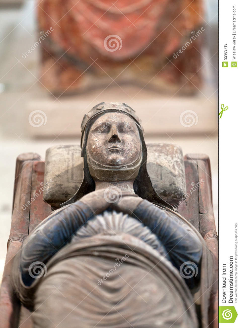 Tomb Of Richard The Lionheart And Isabella Of Angouleme