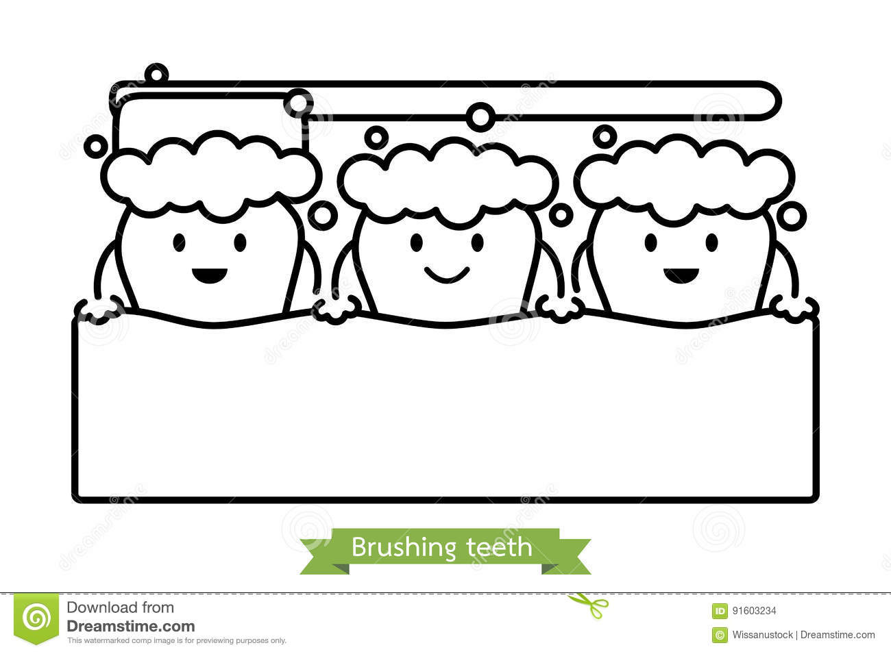 Brushing Cartoons Illustrations Amp Vector Stock Images