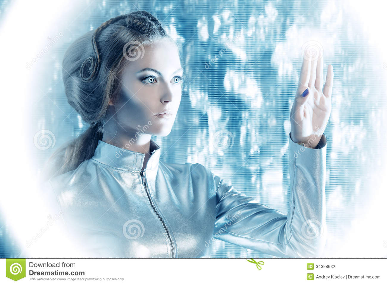 Touchscreen Stock Photography Image 34398632