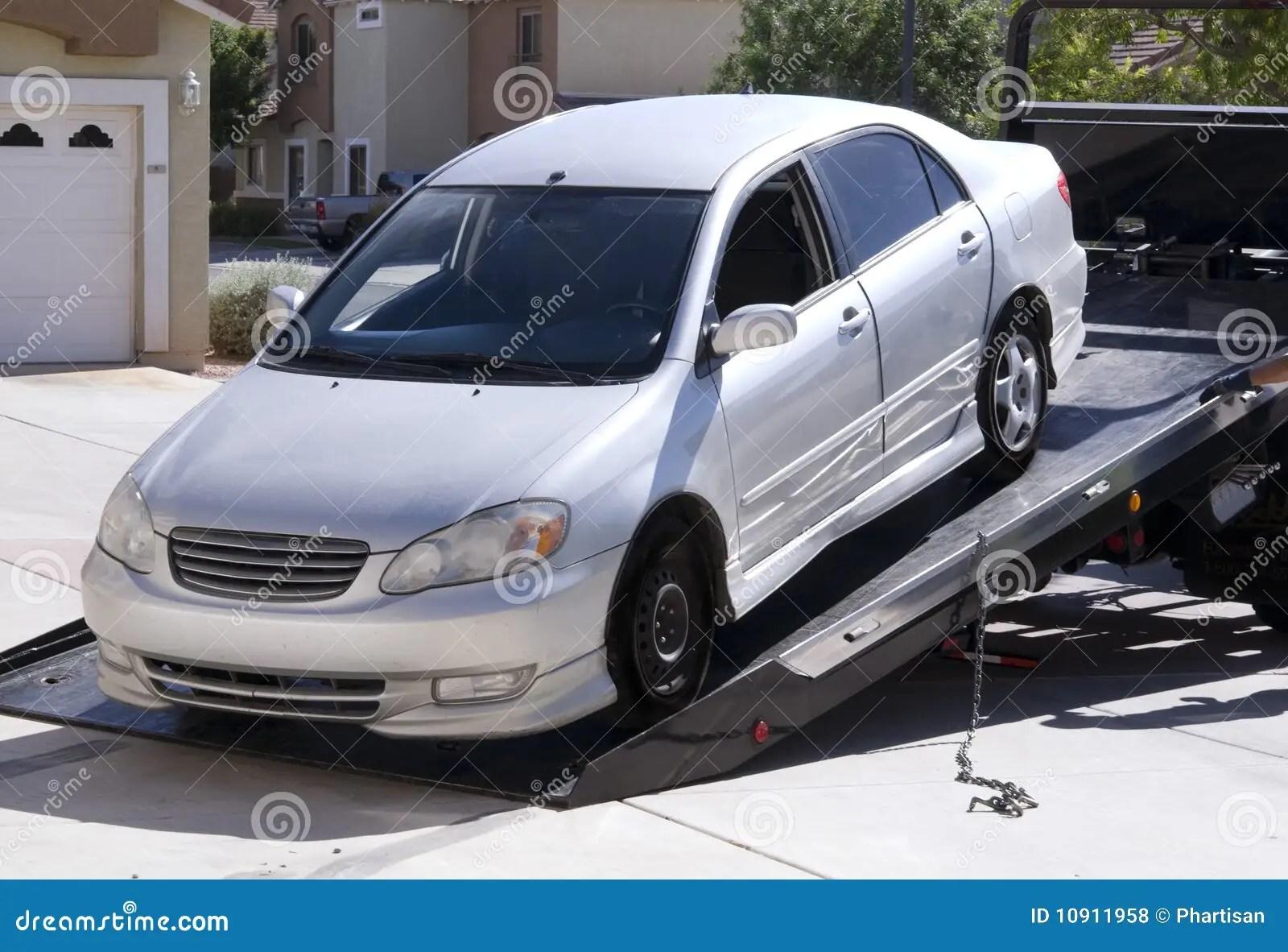Broken Down Truck