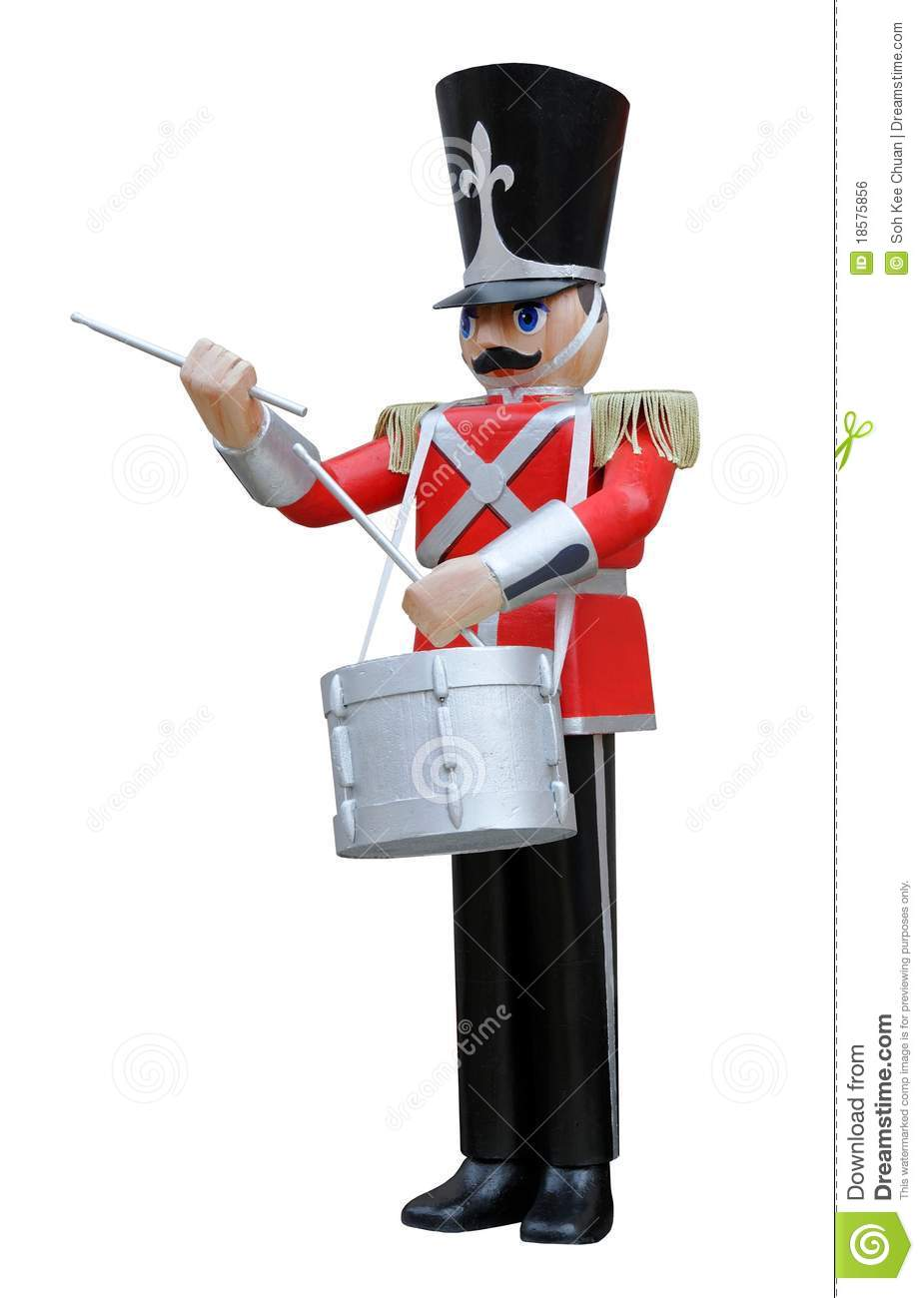 Toy Soldier Drummer Royalty Free Stock Image Image 18575856