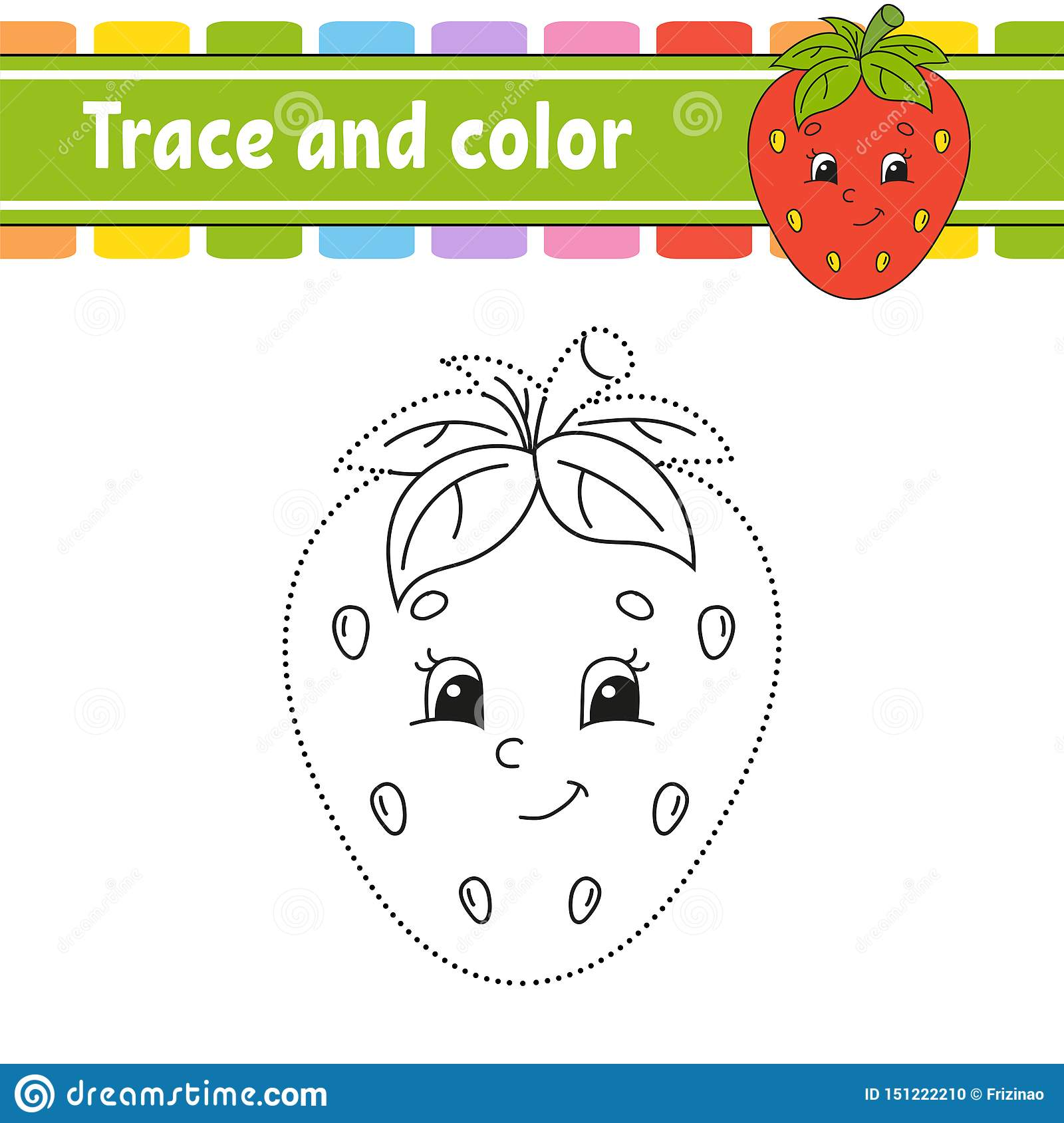 Trace And Color Handwriting Practice Education