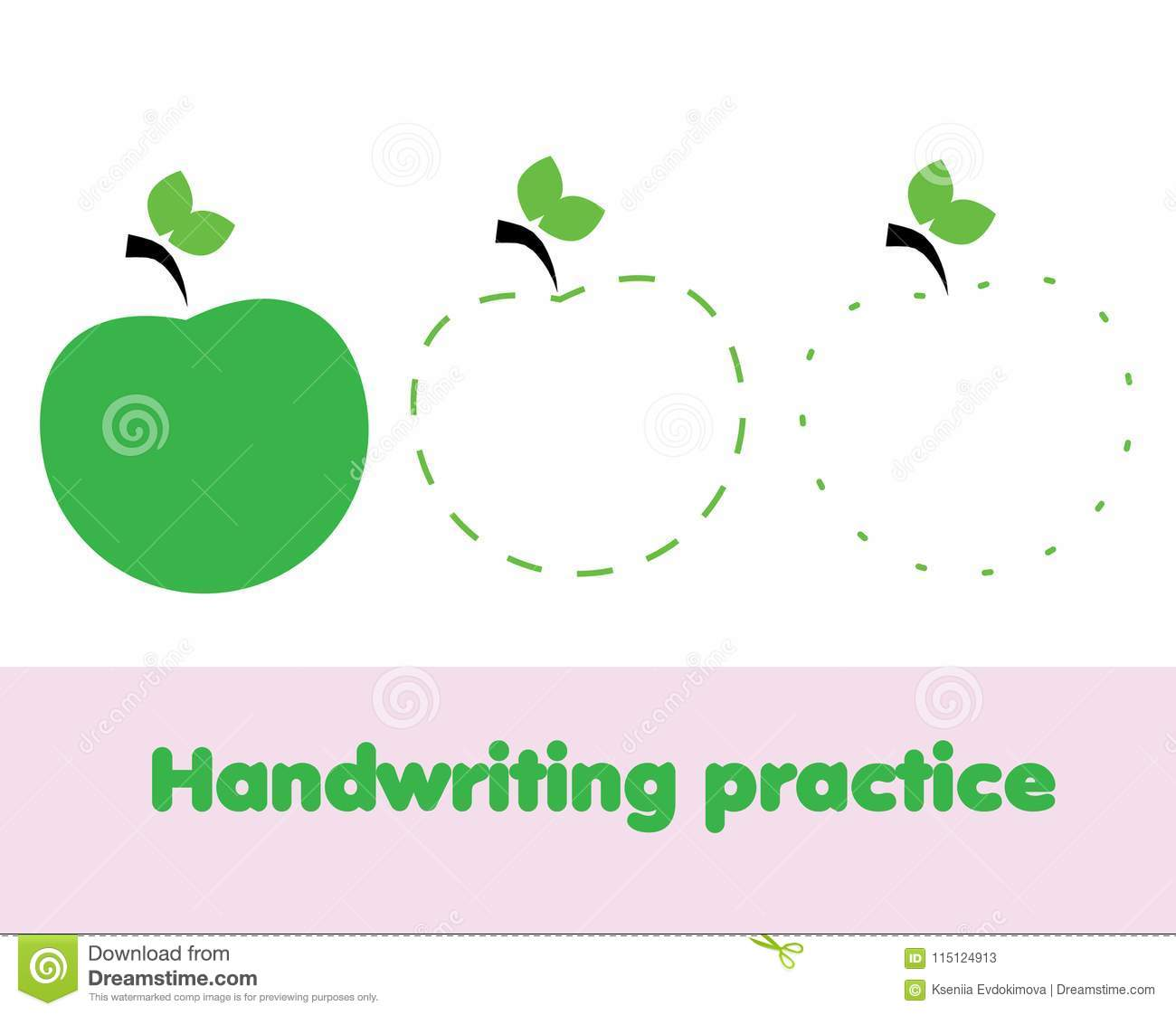 Tracing Lines For Toddlers Handwriting Practice Sheet Educational Children Game Printable