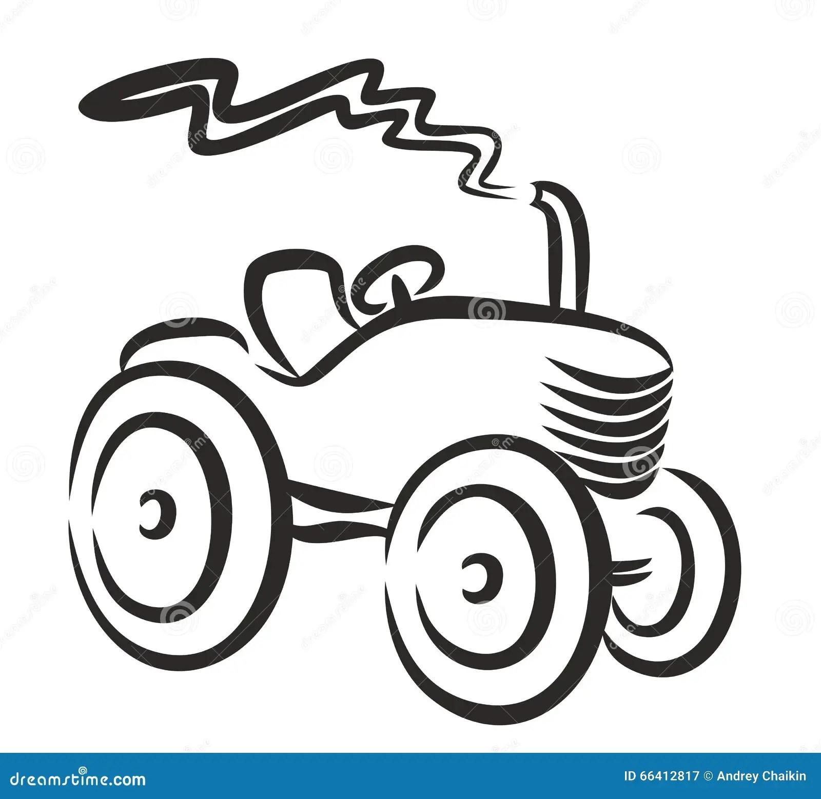 Tractor Logo Stock Vector Illustration Of Rural