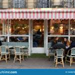 The Traditional French Cafe Loulou Located In Saint Germain District Paris France Editorial Photography Image Of Paris Tree 164493707