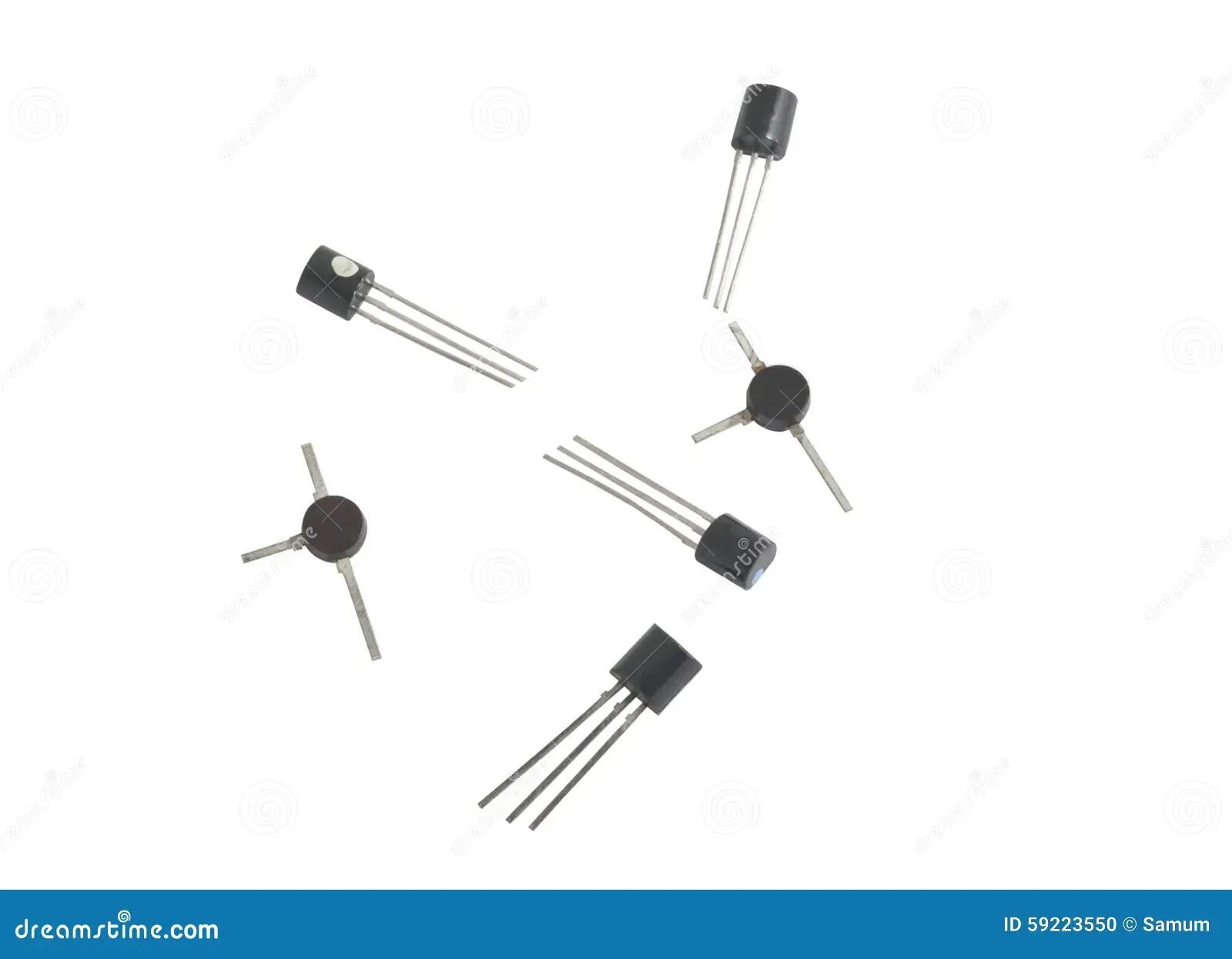 Transistors Stock Photo