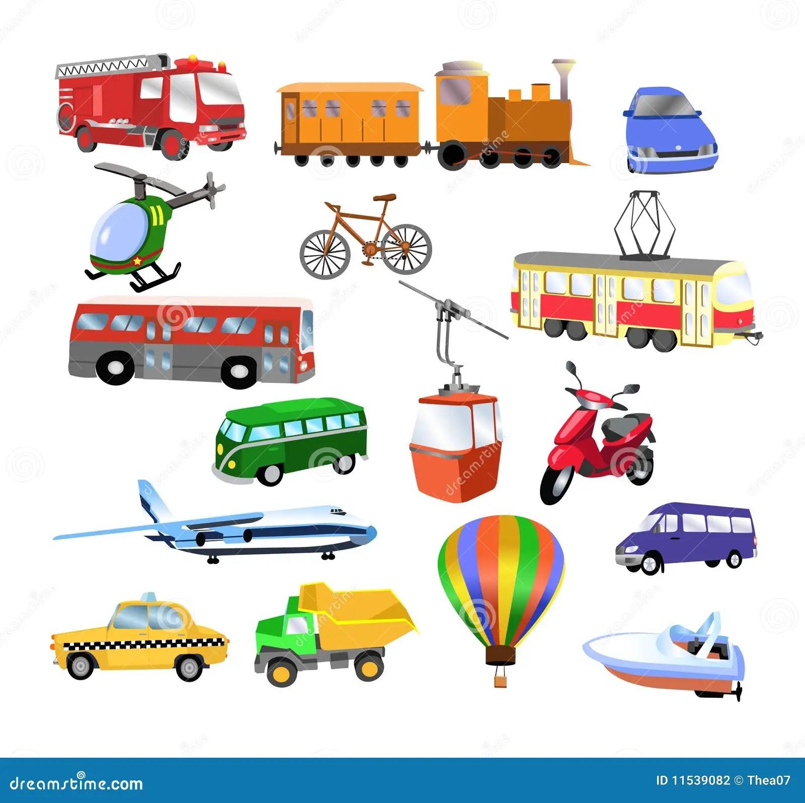 Transporte Ilustracao Do Vetor Ilustracao De Carro