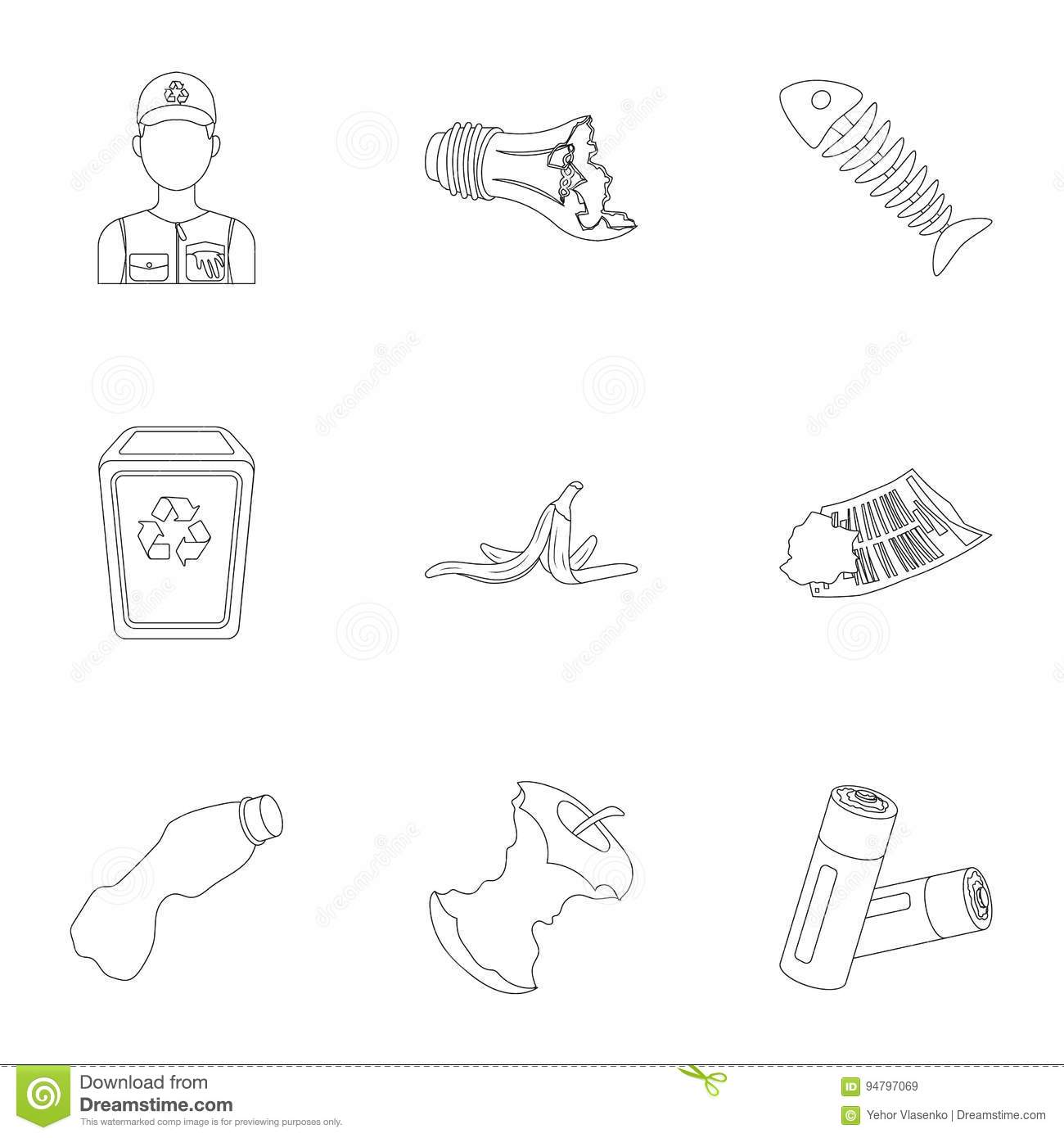 Garbage Cartoons Illustrations Amp Vector Stock Images