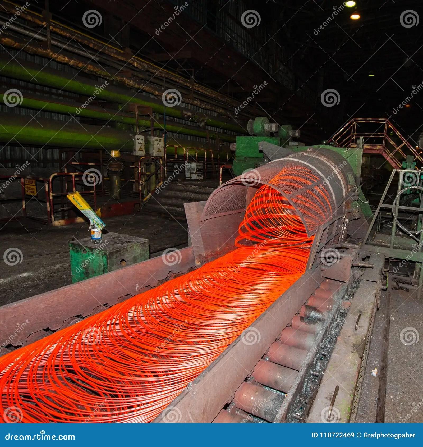 acier de fil de fabrication fer