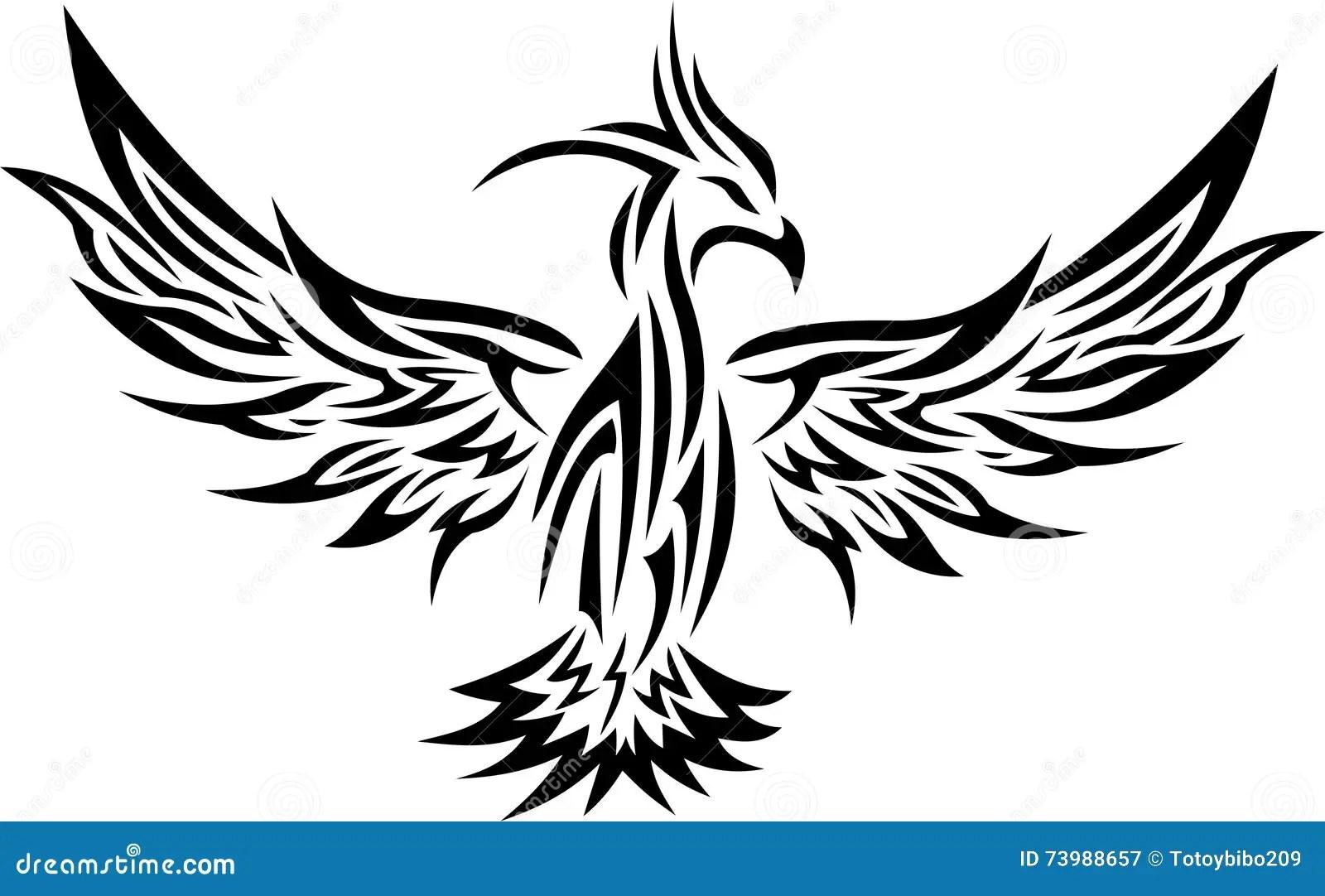 Tribal Tattoo Drawings Birds