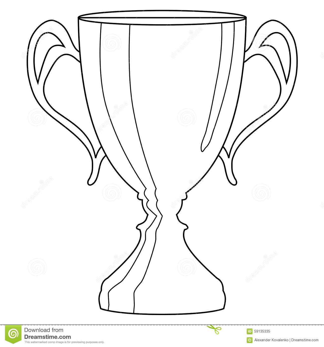 Trophy Cup Stock Illustration Illustration Of Icon