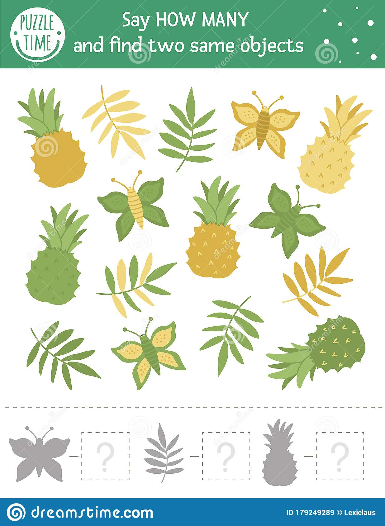 Tropical Counting Game With Exotic Fruits Tropic Math