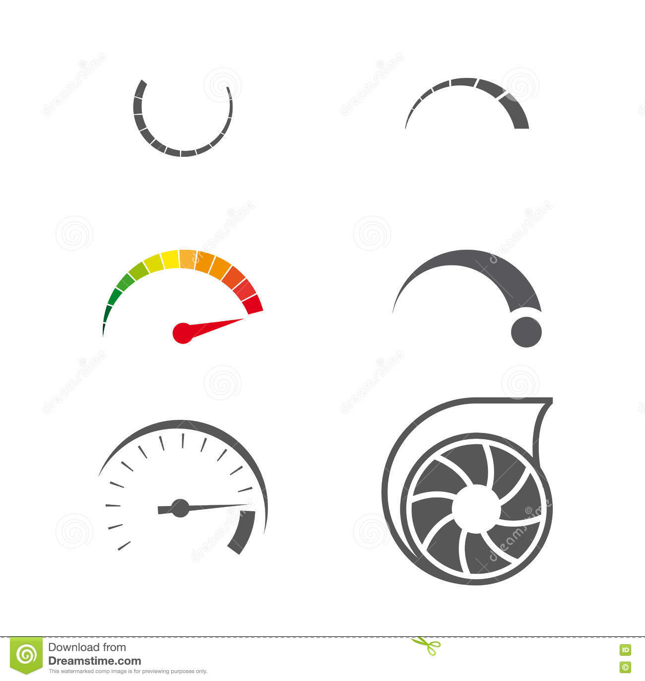 Turbo Icon Stock Vector Illustration Of Illustration