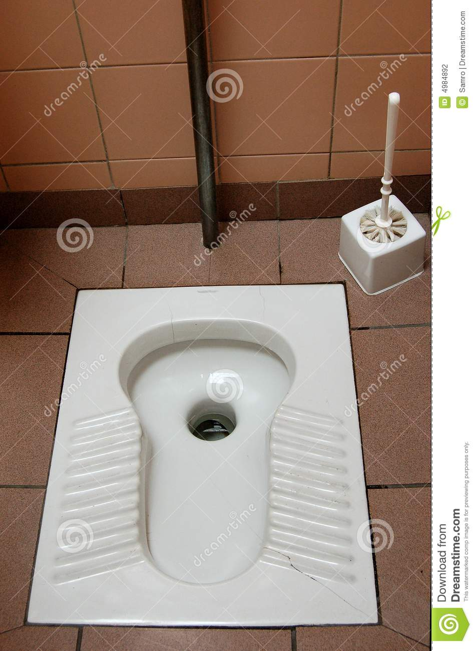 Turkish Toilet Stock Photo Image Of Close Simple Brush 4984892