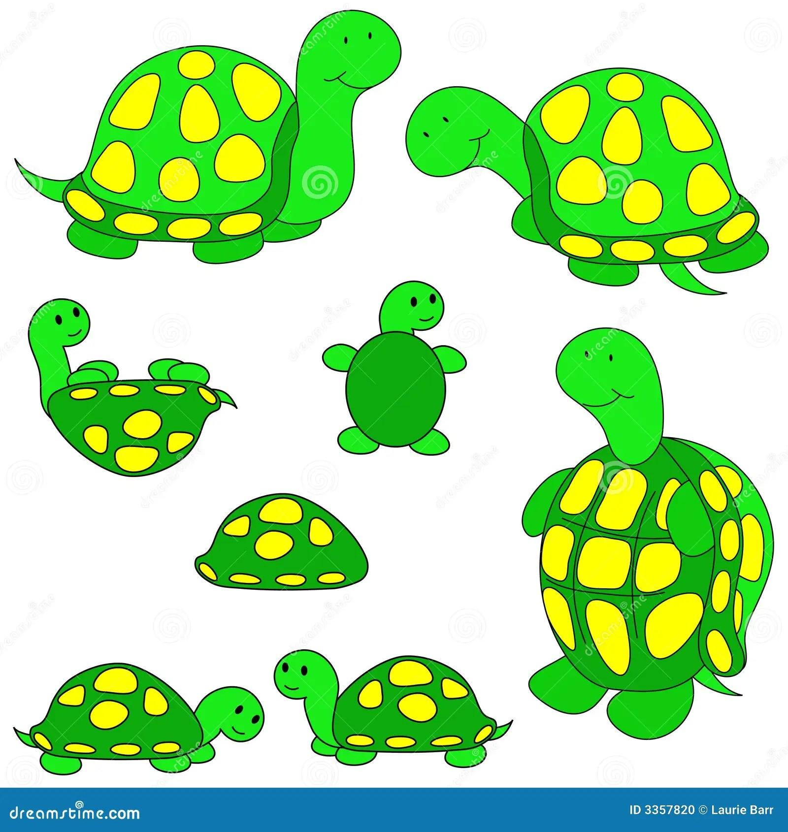 Turtle Clip Art Stock Photo