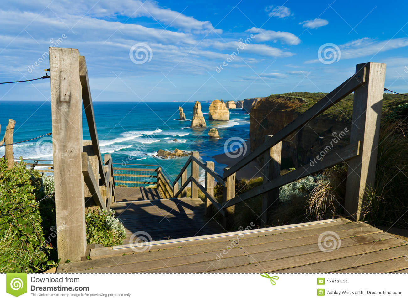 The Twelve Apostles Stock Photo Image Of Steps Stairs