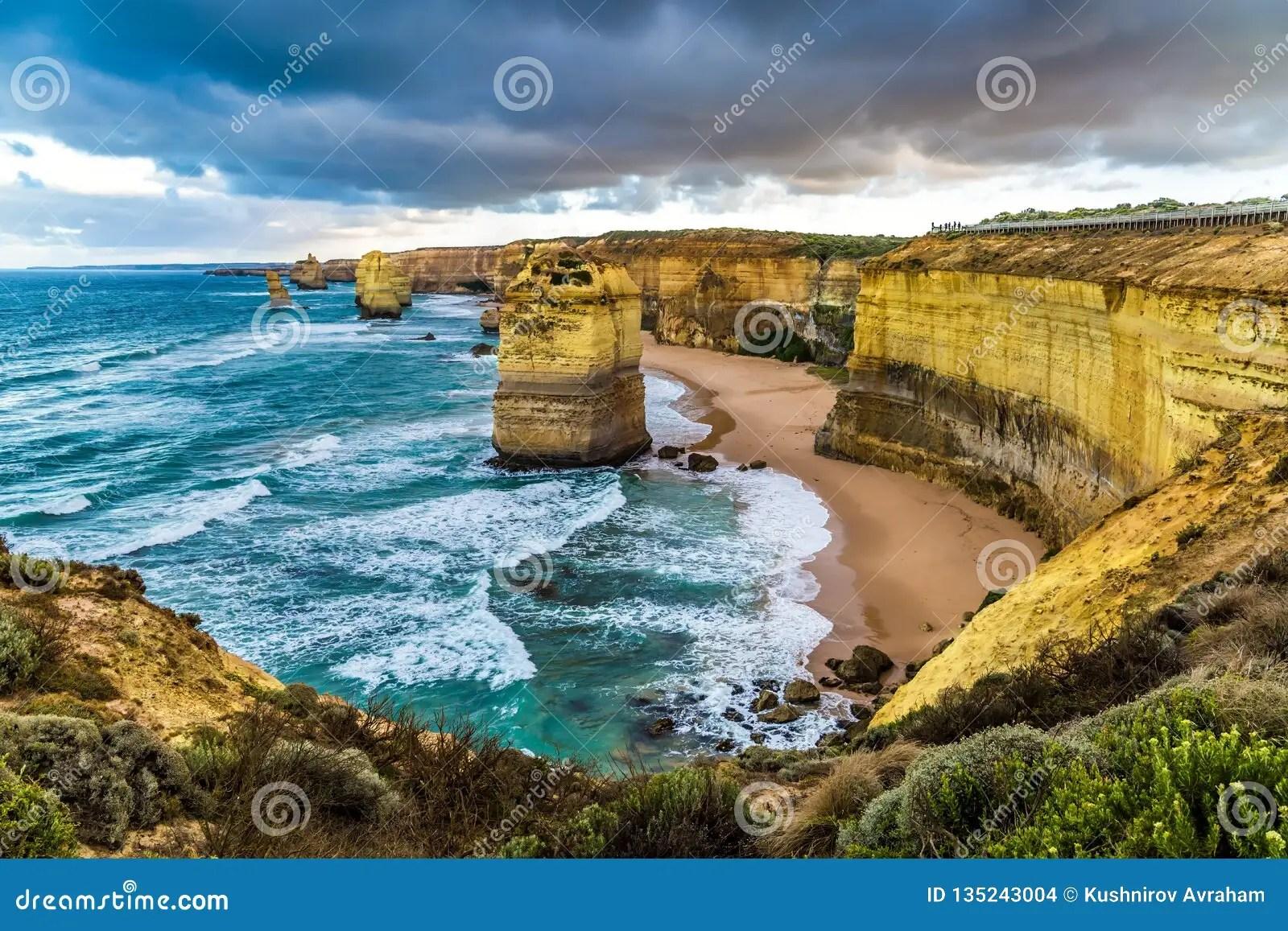 The Twelve Apostles Stock Photo Image Of Pacific