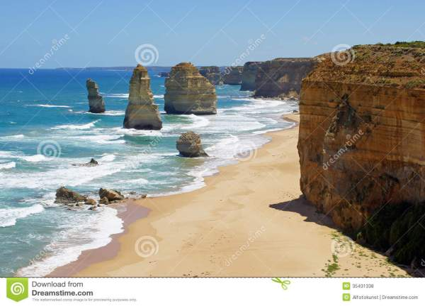 Twelve Apostles, Great Ocean Road, Australia Royalty Free ...