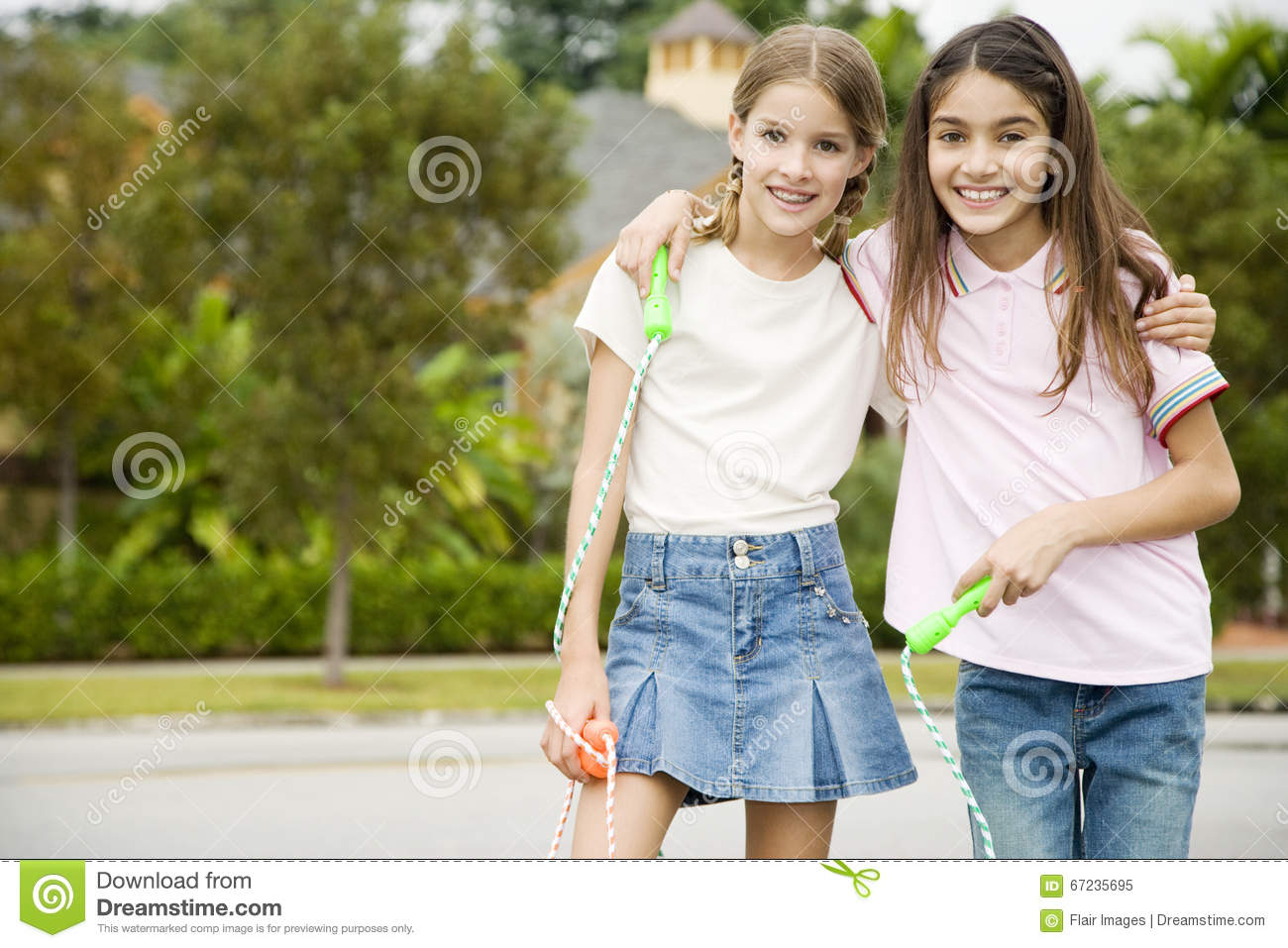 Two Young Friends Stock Photo Image 67235695