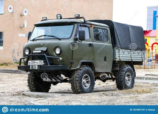 UAZ 39094 Farmer editorial photo. Image of offroad ...