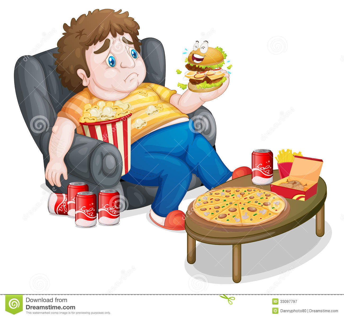 Sitting Couch Clip Art