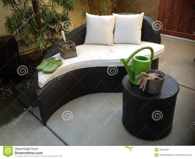 unique patio furniture stock image. image of shoes, furniture - 29040361