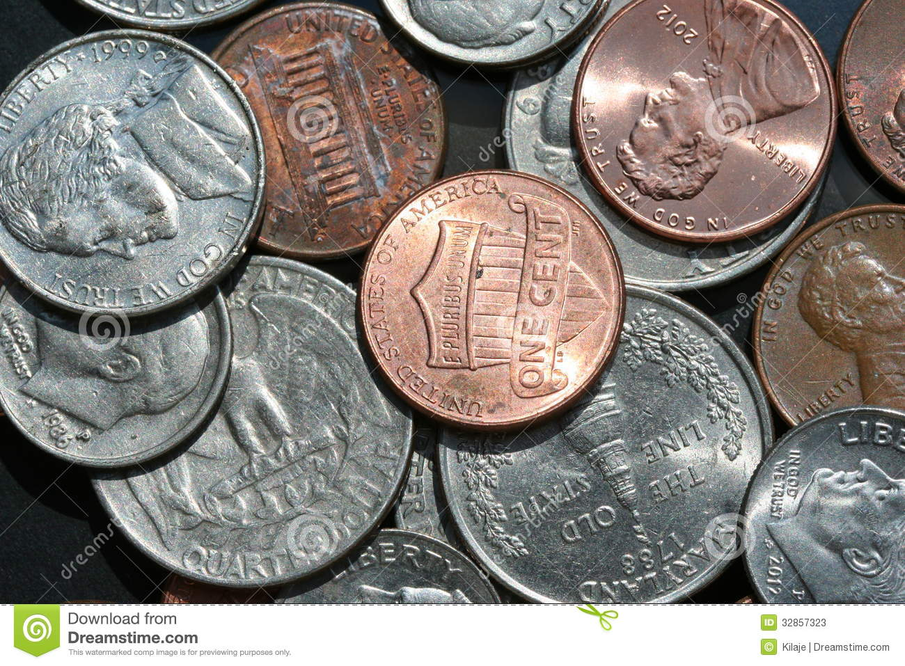 Money Worksheet Pennies Nickel Dime