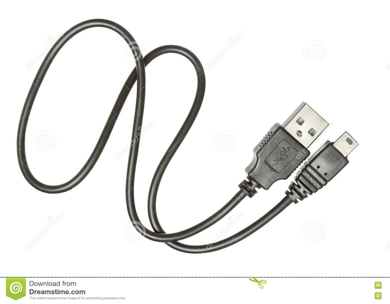 Usb Cable Stock Image Image Of Interconnect Connect